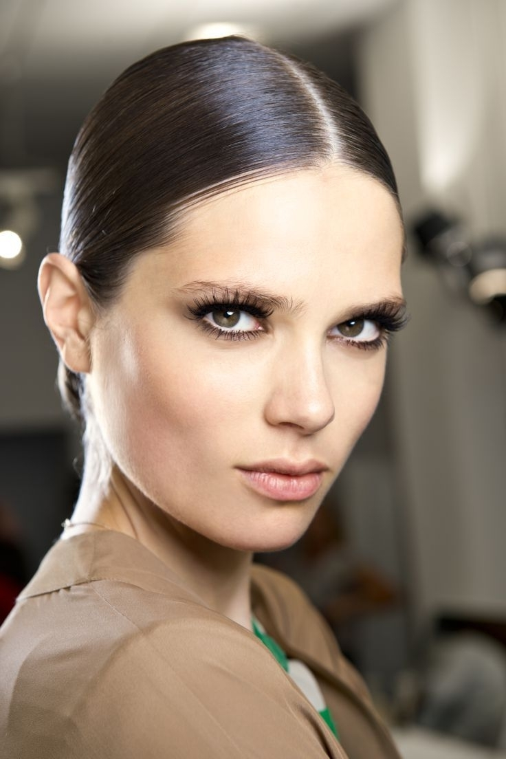 Spanish Slick Look With Hair Bun | Braids, Buns, Updo's, Bouffants Inside Spanish Updo Hairstyles (View 5 of 15)