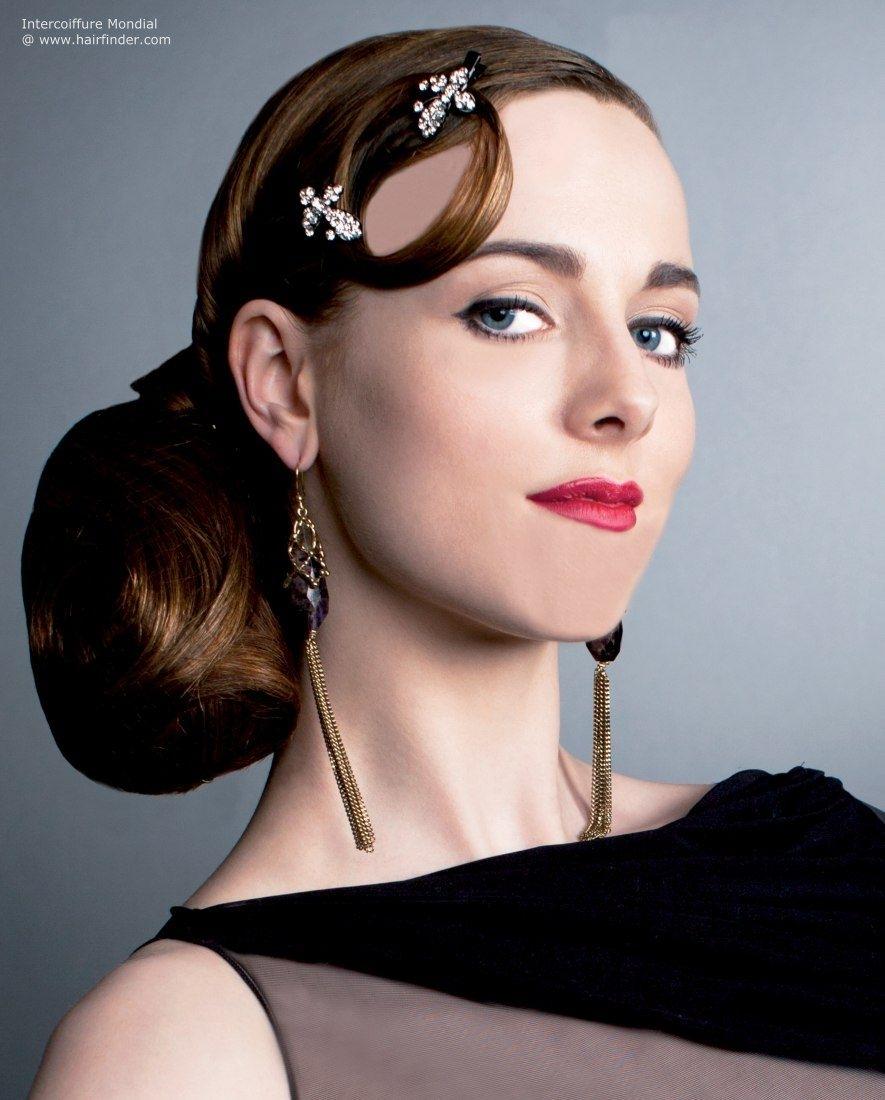 Spanish Updo Hairstyles Spanish Flamenco Inspired Hairstyle With A Regarding Spanish Updo Hairstyles (View 11 of 15)