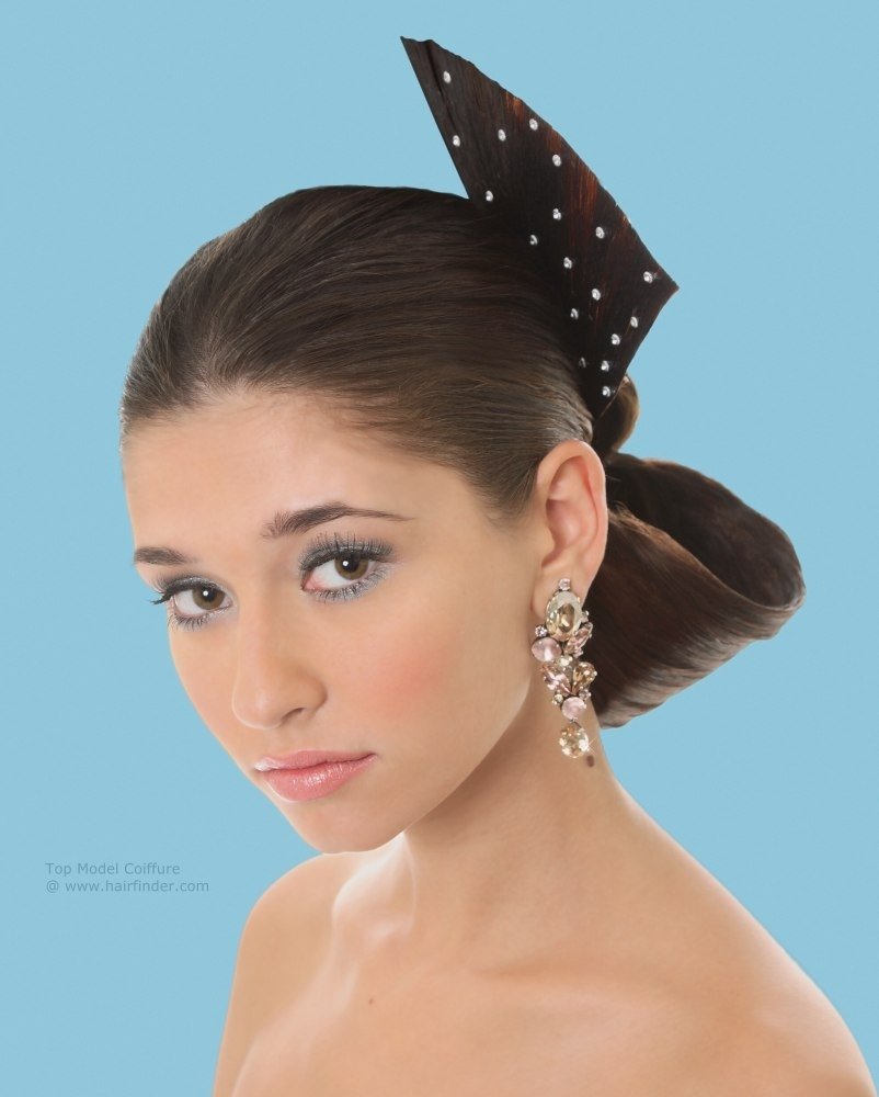 Spanish Updo Hairstyles Spanish Flamenco Inspired Updo With A With Regard To Spanish Updo Hairstyles (View 11 of 15)