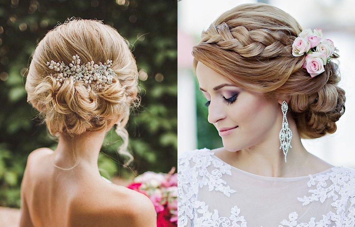 Striking Wedding Hairstyles With Glam – Modwedding Inside Wedding Updo Hairstyles (View 14 of 15)