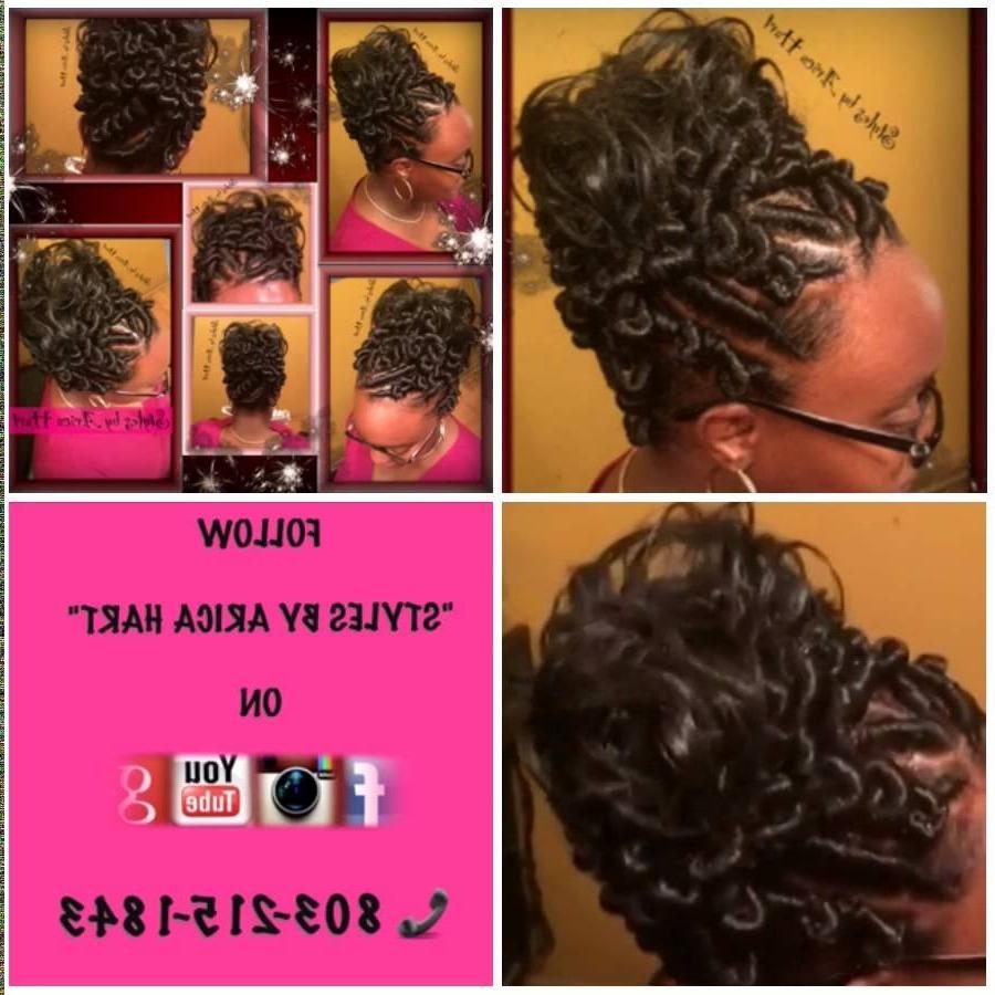 Stuff Twist Hairstyles New Stuffed Twist Hairstyles Hair Style With Stuffed Twist Updo Hairstyles (View 6 of 15)