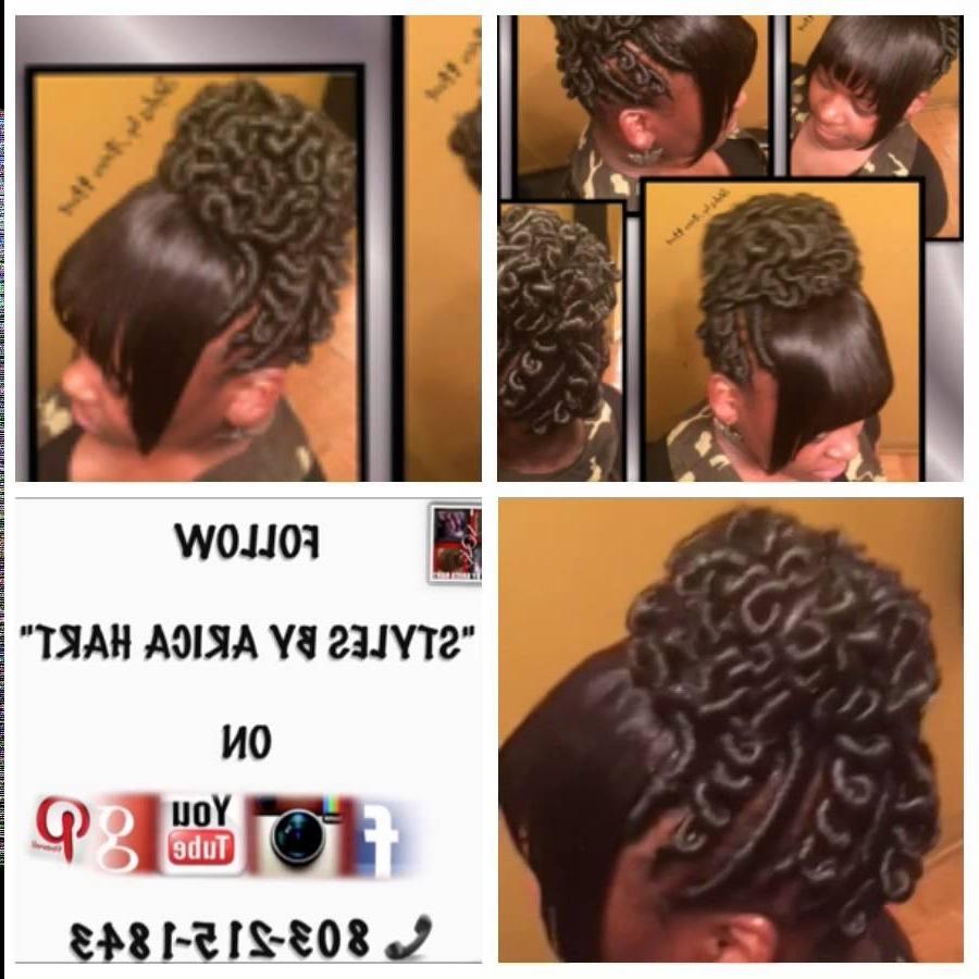 Stuffed Twist Hair Stylesarica Hart. (View 9 of 15)