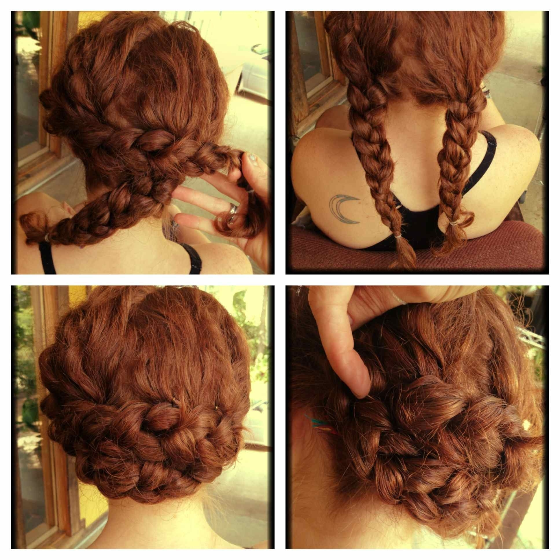 Such A Good, Quick Hairstyle For Us Curlys | Hairstyles | Pinterest Throughout Quick Updo Hairstyles For Curly Hair (View 15 of 15)