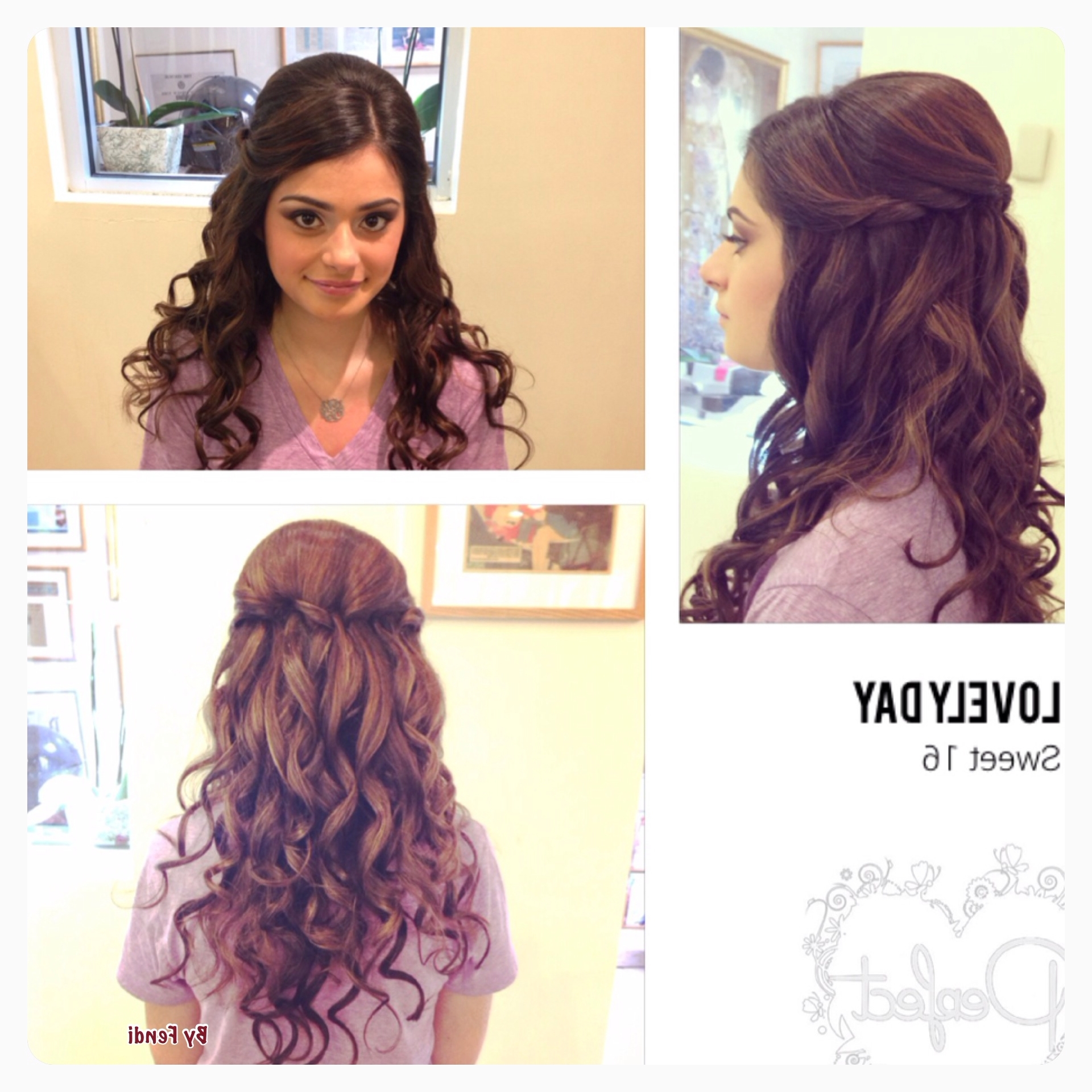 Sweet 16 Hairstyle ! | Sweet 16 Ideas | Pinterest | Sweet 16 Inside Updo Hairstyles For Sweet (View 8 of 15)