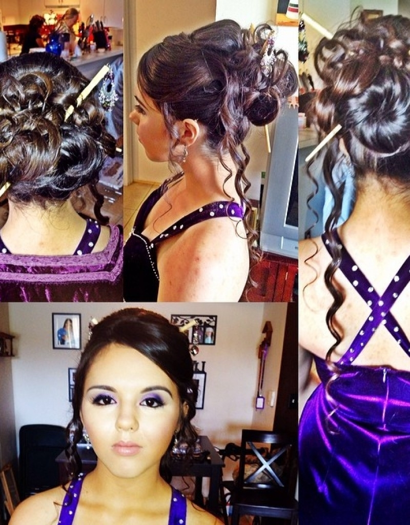 Photo Gallery Of Updo Hairstyles For Sweet 16 Viewing 10 Of