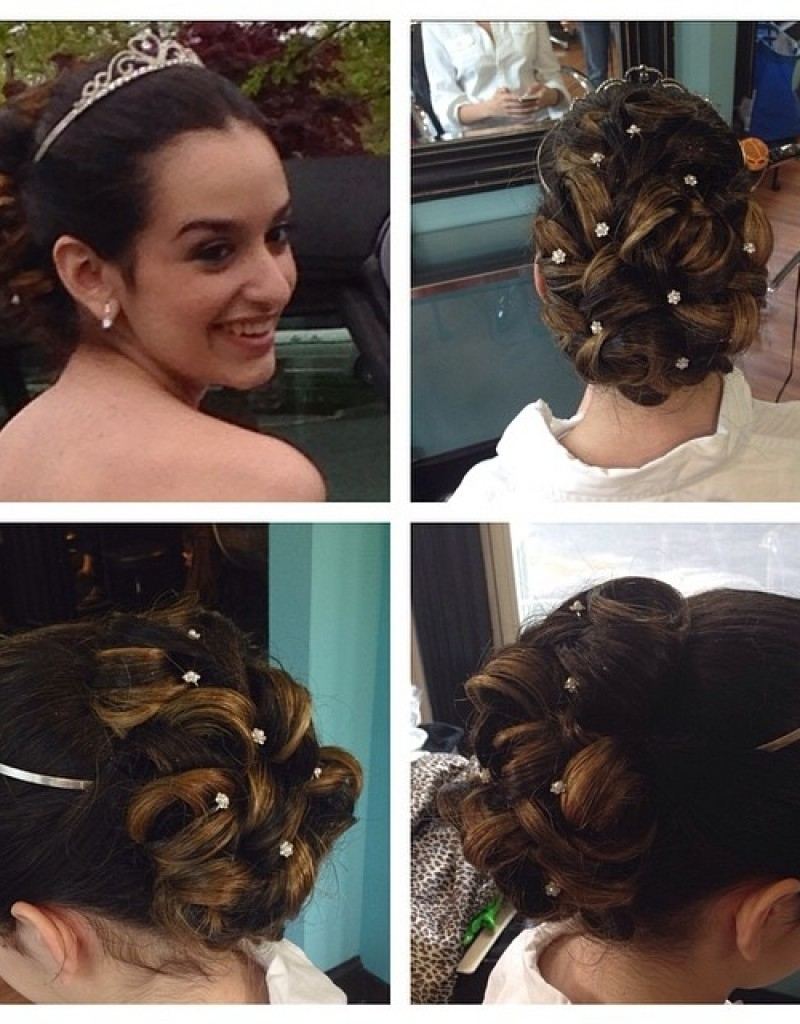 Sweet 16 Updo Hairstyles Hairstyle For Sweet 16 Sweet 16 Updo In Updo Hairstyles For Sweet  (View 6 of 15)