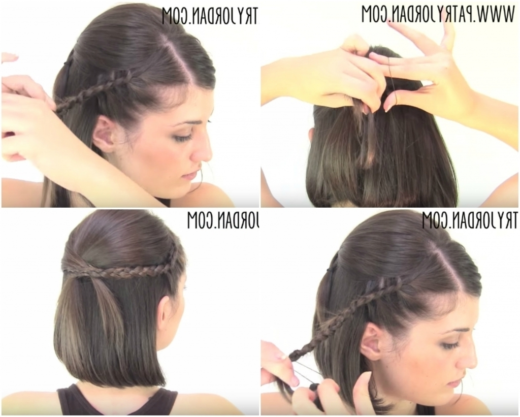 Tag: Easy Updo Hairstyles For Short Hair Stepstep – Hairstyle Within Easy Updo Hairstyles For Short Hair (View 15 of 15)