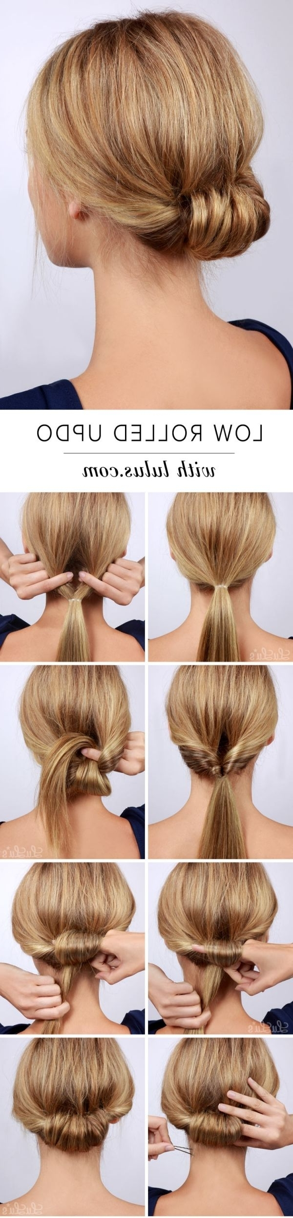 Tame Your Tresses With These Gorgeous Hairstyles For Thick Hair Within Easy Updo Hairstyles For Long Thick Hair (View 13 of 15)