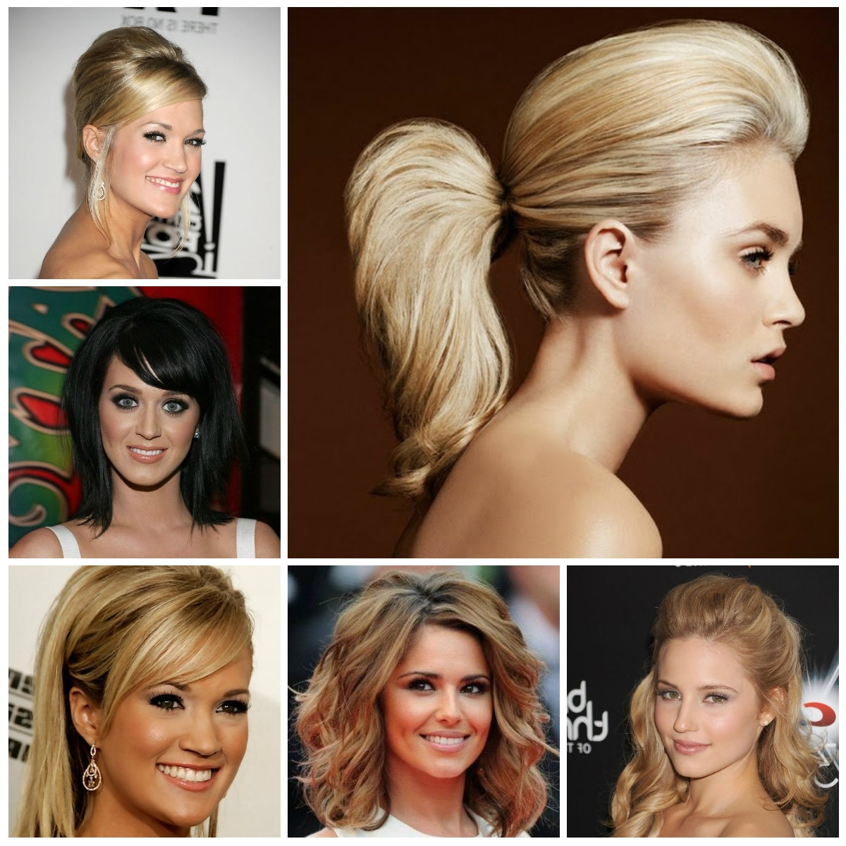 Teased Hairstyles For Medium Hair 2017 | New Haircuts To Try For Regarding Teased Updo Hairstyles (View 12 of 15)