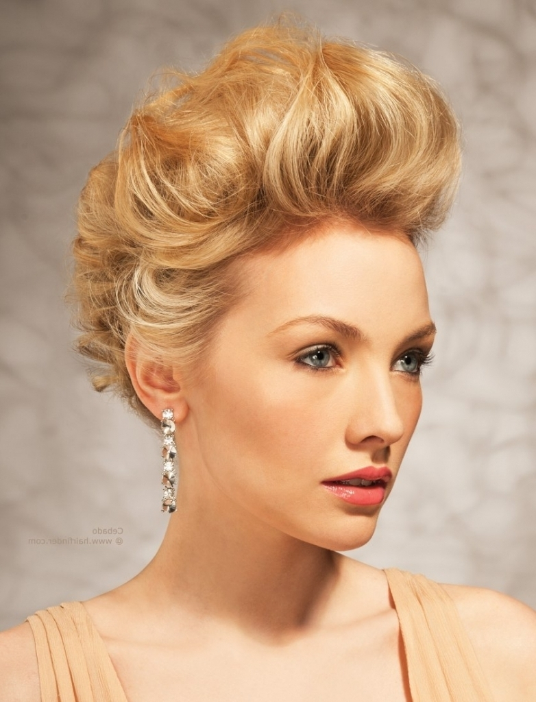 Featured Photo of Teased Updo Hairstyles