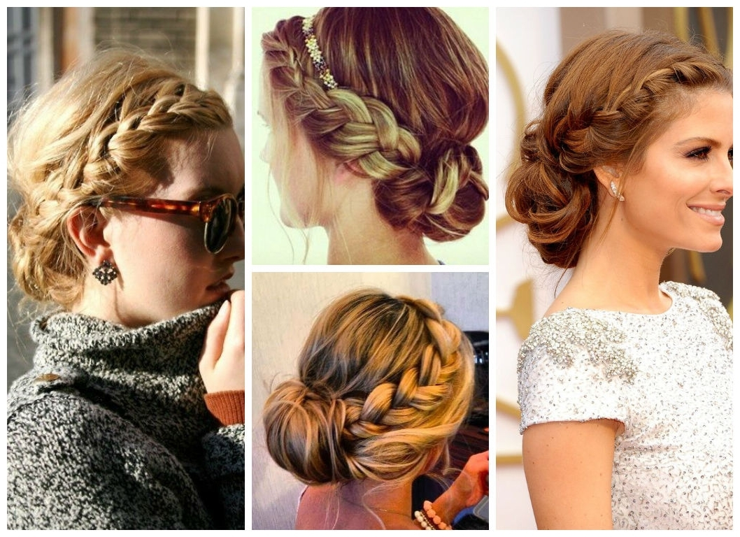 Teen Hairstyle Ideas For The Summer – Hair World Magazine For Braided Crown Updo Hairstyles (View 4 of 15)