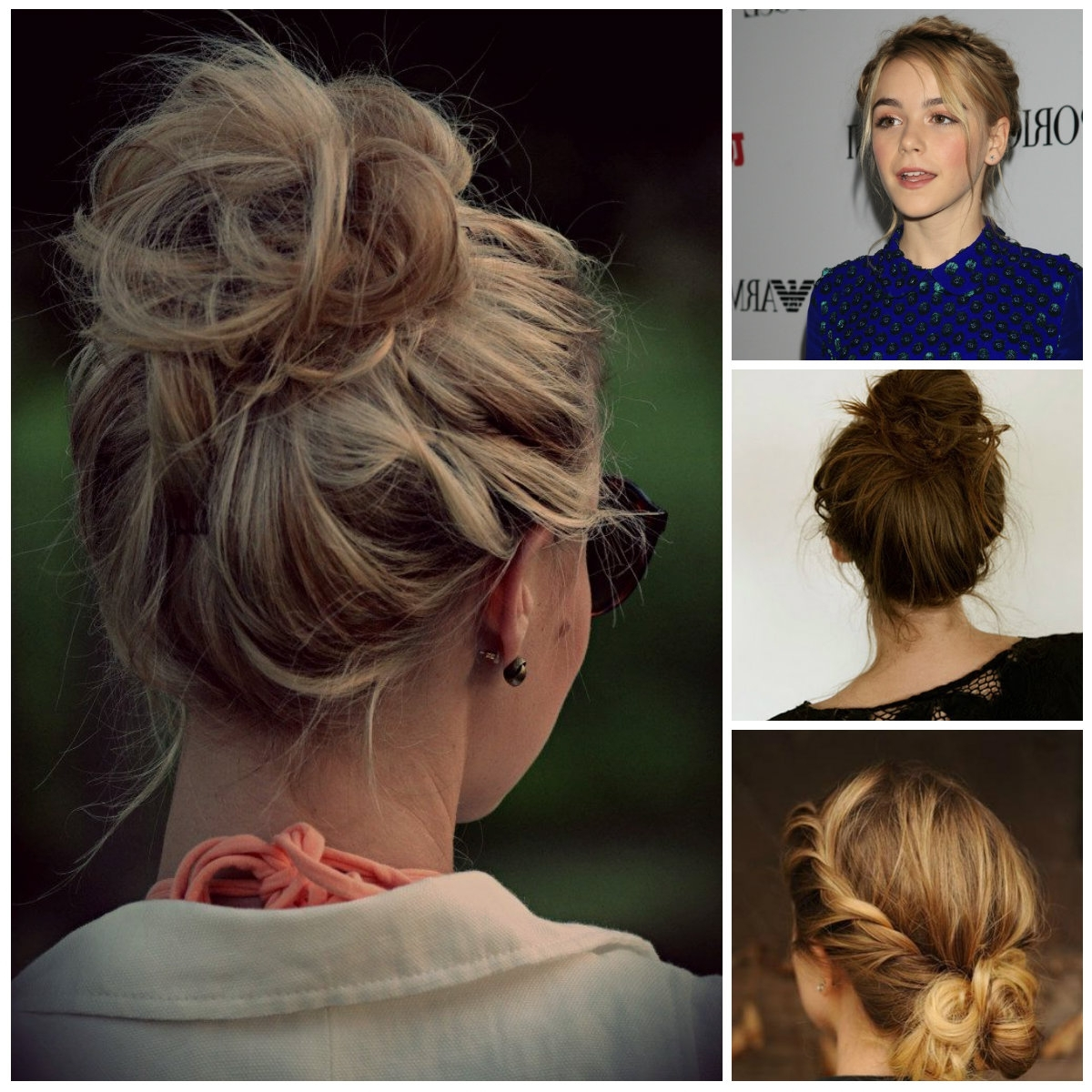 Teenage Messy Updos | Hairstyles 2018 New Haircuts And Hair Colors For Messy Updo Hairstyles (View 7 of 15)