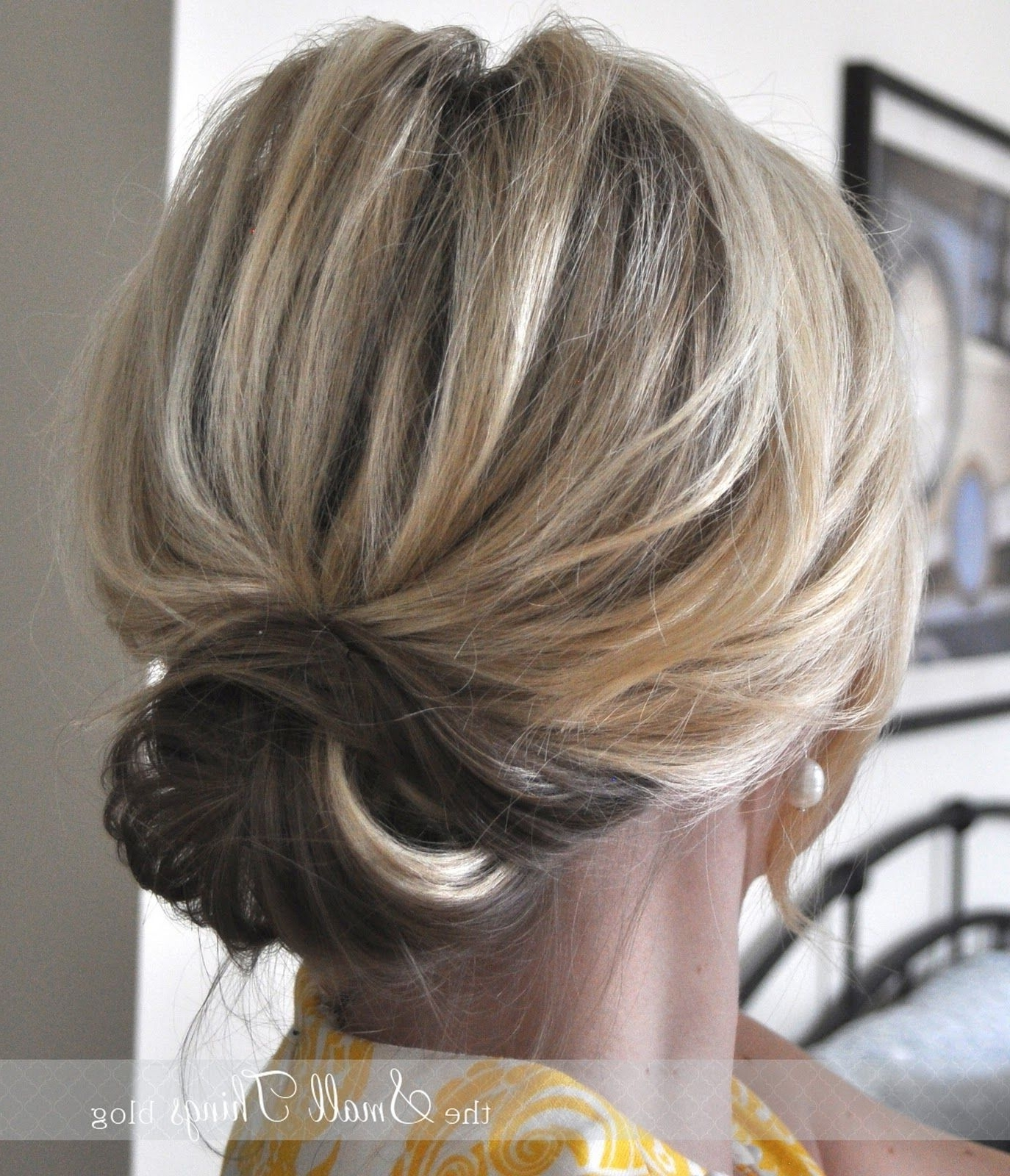 The Chic Updo < Great For Mid Length Hair (View 15 of 15)