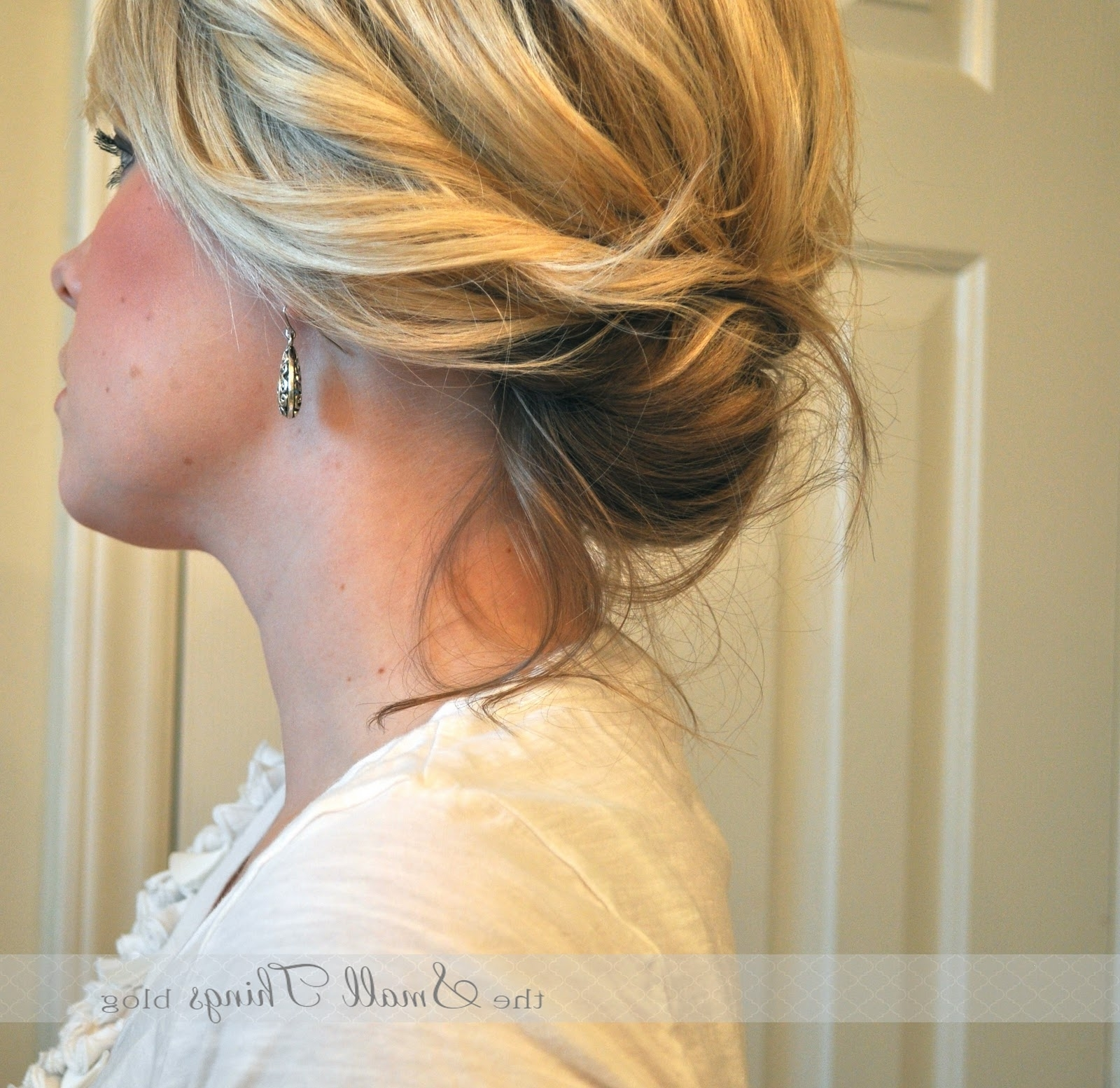 The Chic Updo – The Small Things Blog Throughout Chic Updos For Long Hair (View 14 of 15)