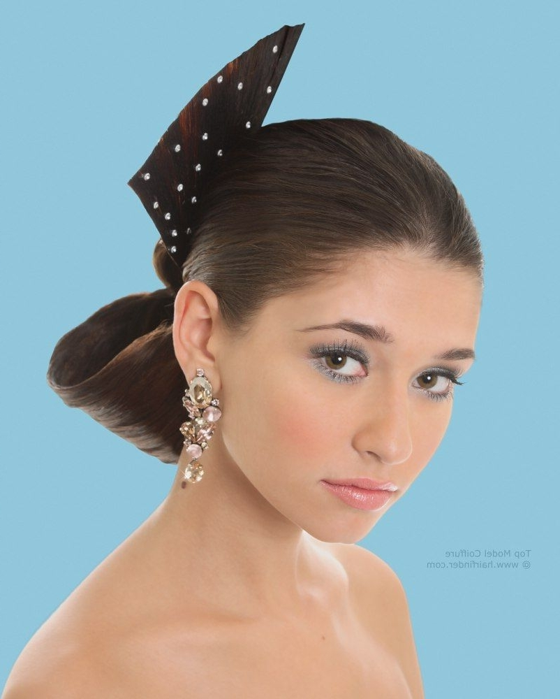 The Flamenco Chignon Hairstyle For Traditional Spanish Look Inside Spanish Updo Hairstyles (View 8 of 15)