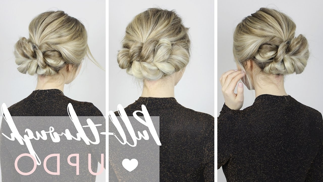 The Most Gorgeous Updo | Perfect For Long, Medium, And Short Hair Inside Luxy Updo (View 14 of 15)