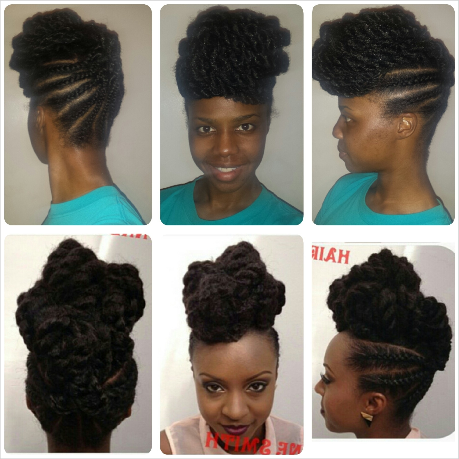The Wedding Do: Cornrows X Marley Twists – Tobnatural For Marley Twist Updo Hairstyles (View 12 of 15)