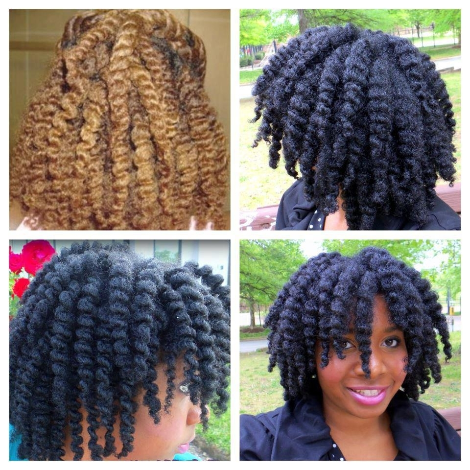 This Is A Perfect Tst Twist Out! | Black Women Natural Hairstyles Throughout Updo Twist Out Hairstyles (View 13 of 15)