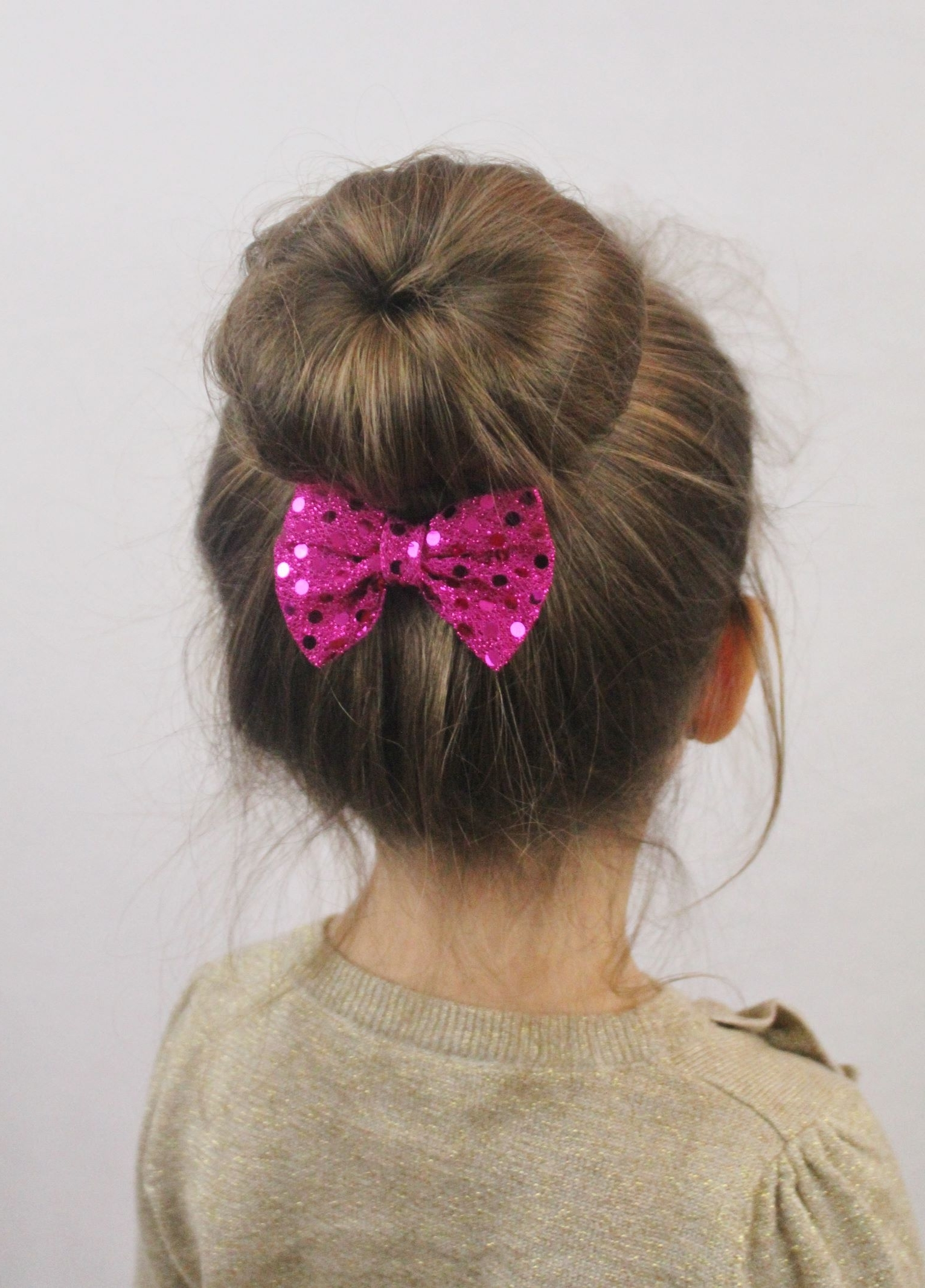 Top 10 Best Girl's Hairstyles For School   Sock Buns, Socks And With Easy Updo Hairstyles For Kids (View 12 of 15)