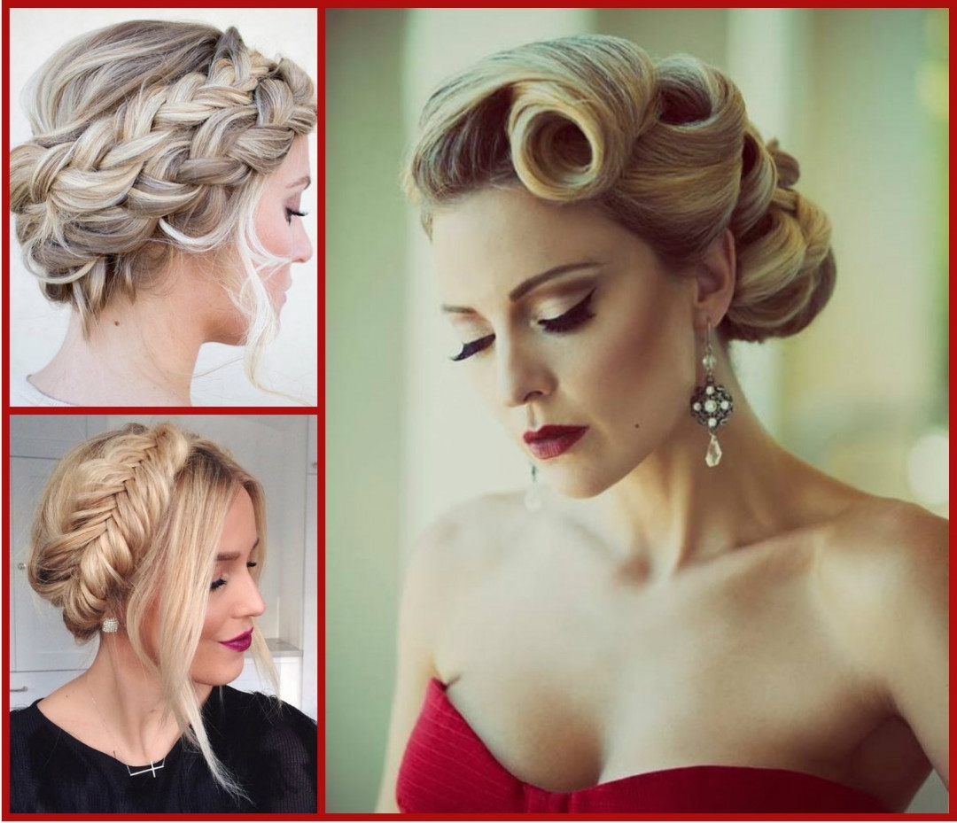 Top Trendy Updo Hairstyles 2015 | Hairstyles 2017, Hair Colors And Pertaining To Updo Hairstyles (View 13 of 15)