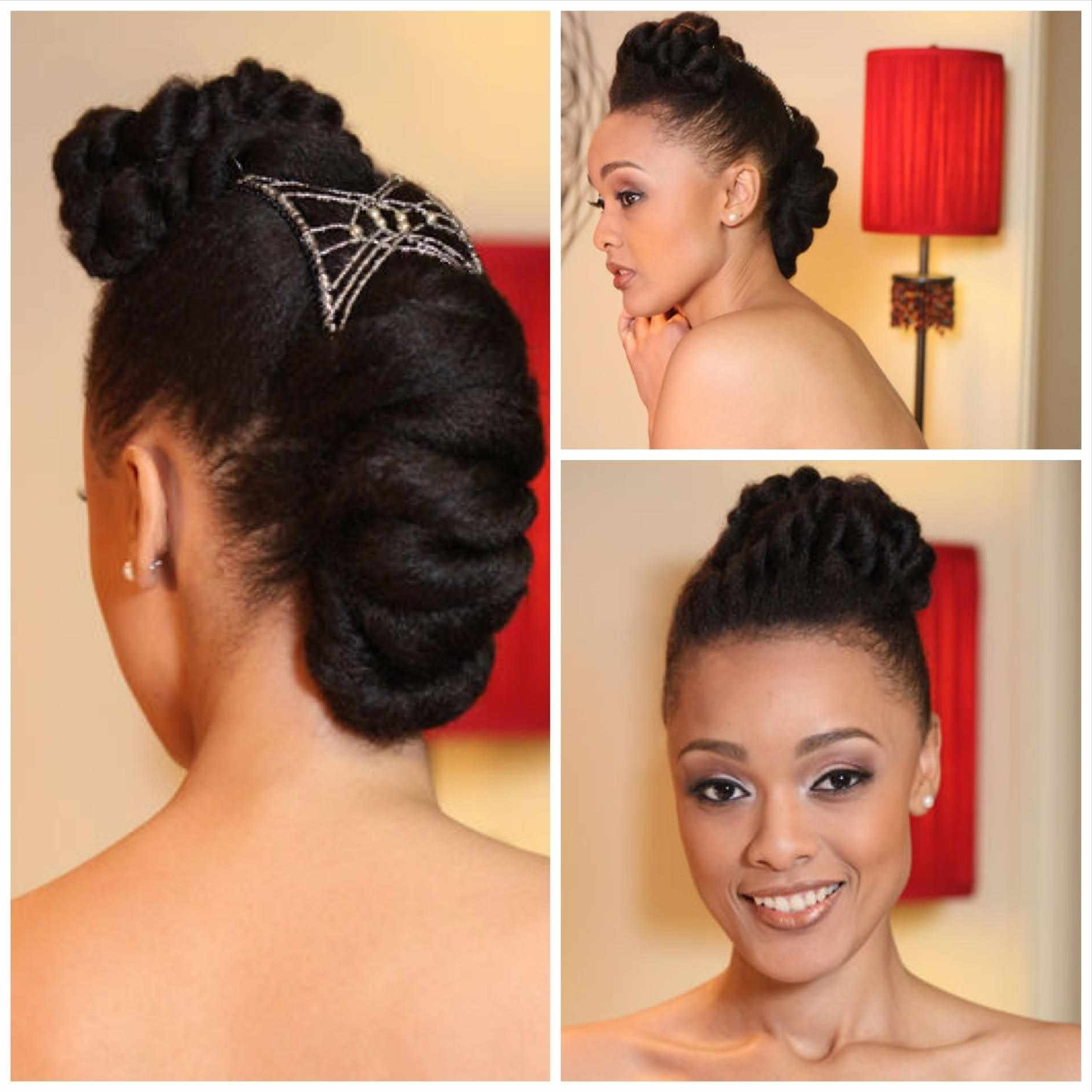 Photo Gallery Of Natural Hair Wedding Updo Hairstyles Viewing 8 Of
