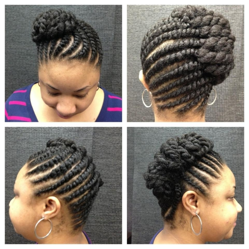 Twist Updo Hairstyles 1000 Images About Natural Hair On Pinterest With Regard To Twist Updo Hairstyles (View 13 of 15)