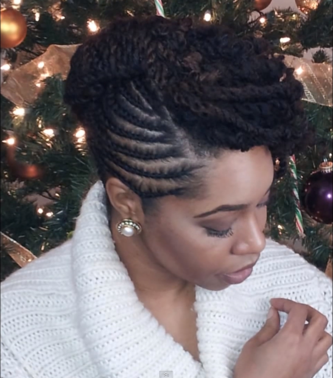 Twist Updo Hairstyles For Natural Hair 1000+ Images About Flat Twist Inside Hair Twist Updo Hairstyles (View 13 of 15)