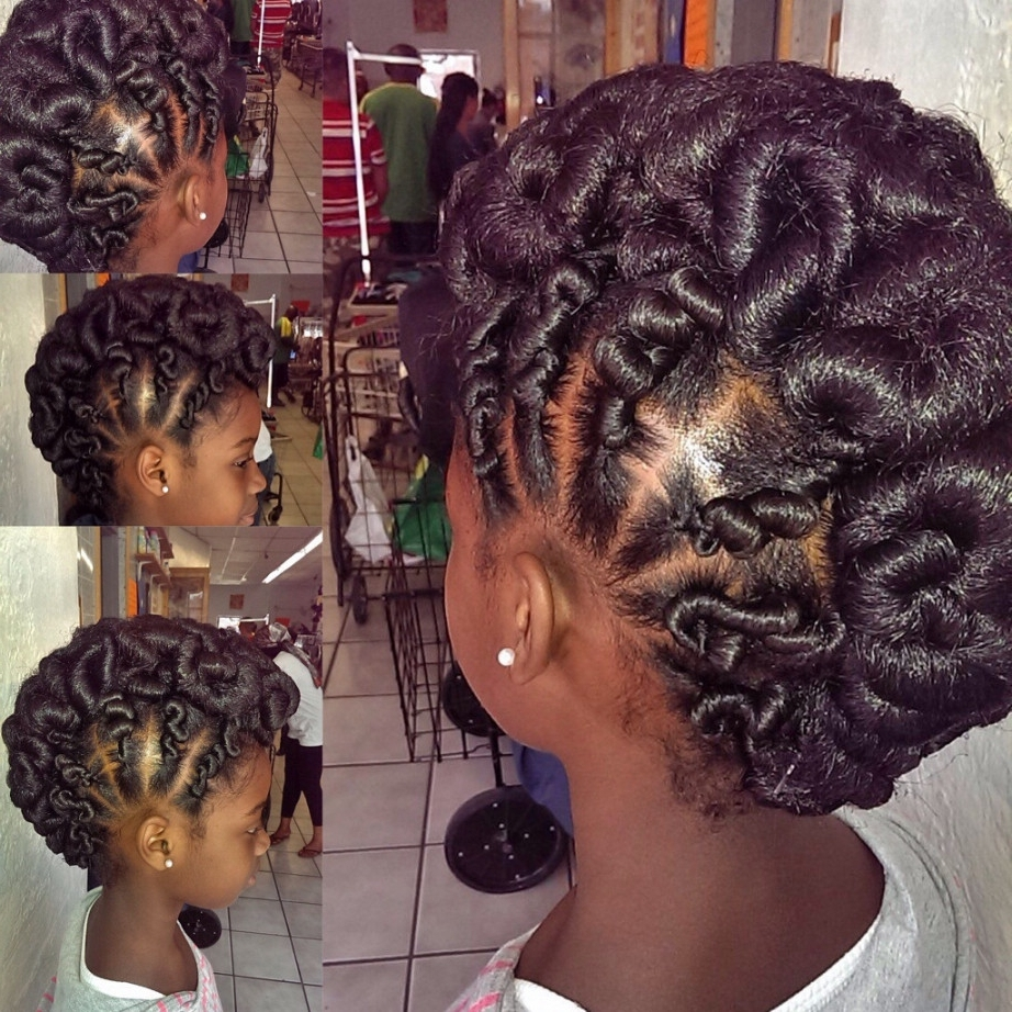 Twist Updo Hairstyles Natural Hair In Updo Twist Hairstyles For Natural Hair (View 15 of 15)