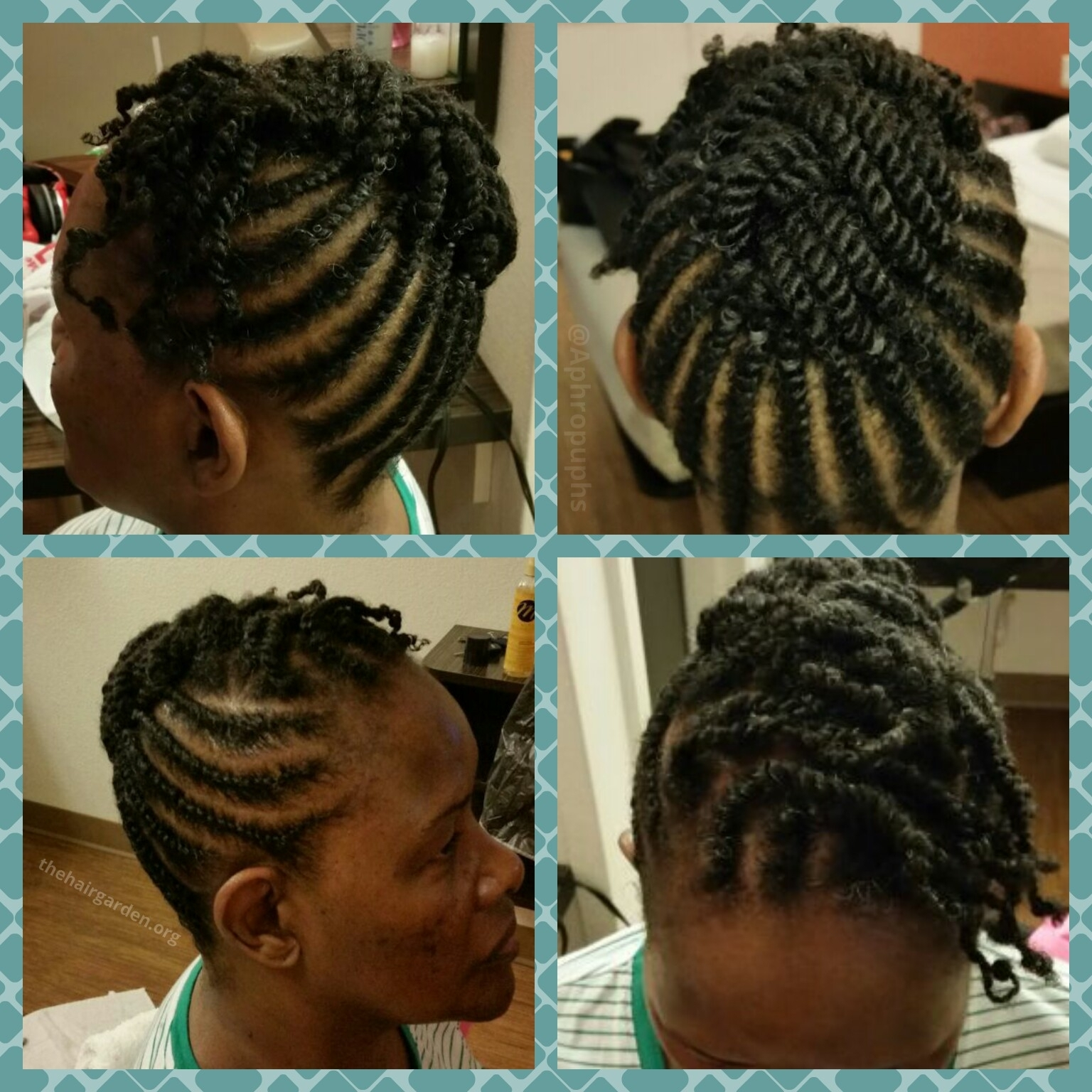 Two Strand Flat Twist Updo Hairstyles Flat Twist Updo! – The Hair Within 2 Strand Twist Updo Hairstyles (View 9 of 15)