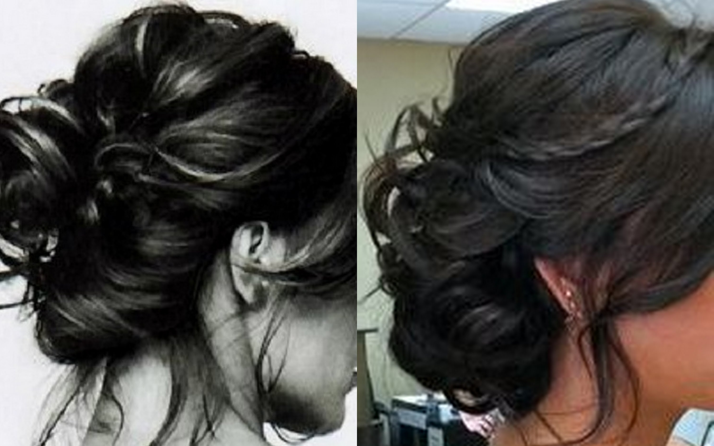 Ultimate Messy Bun Hairstyle For Long Hair Also Quick Hairstyle For Messy Hair Updo Hairstyles For Long Hair (Gallery 13 of 15)
