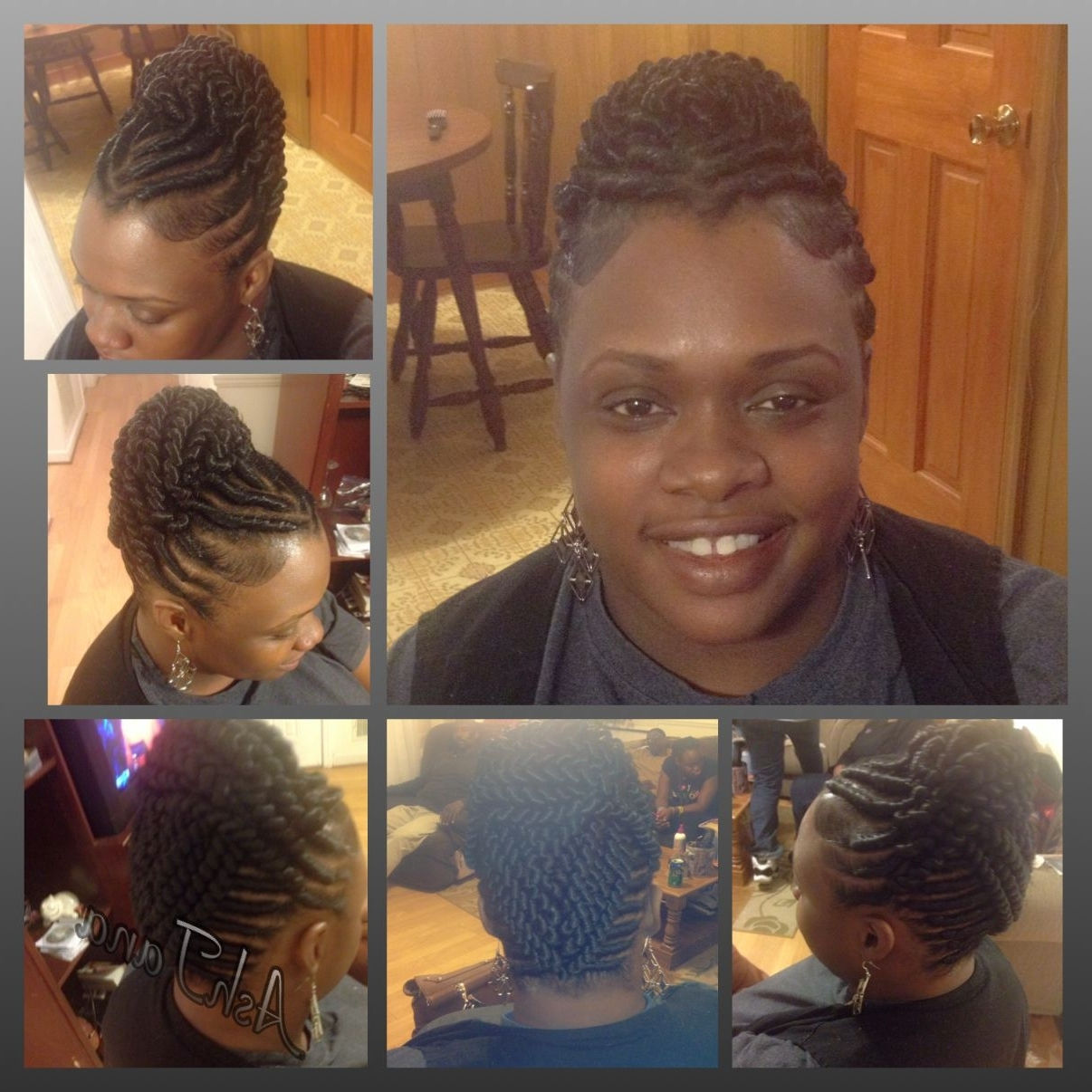Unbelievable Stuffed Twist Hair Style Flat Pic Of Black Hairstyles Intended For Stuffed Twist Updo Hairstyles (Gallery 10 of 15)