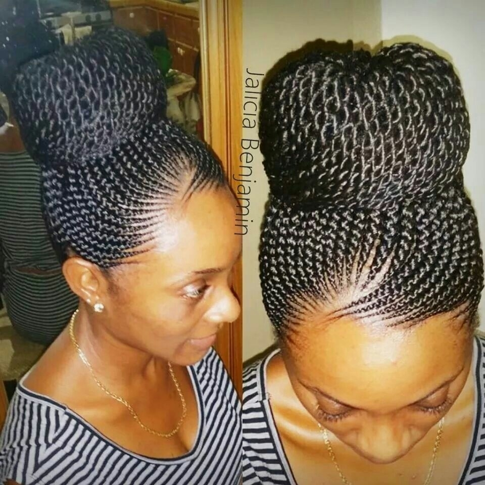 Updo Cornrow Hairstyles 1000+ Images About Braids On Pinterest With Regard To Updo Cornrow Hairstyles (View 12 of 15)
