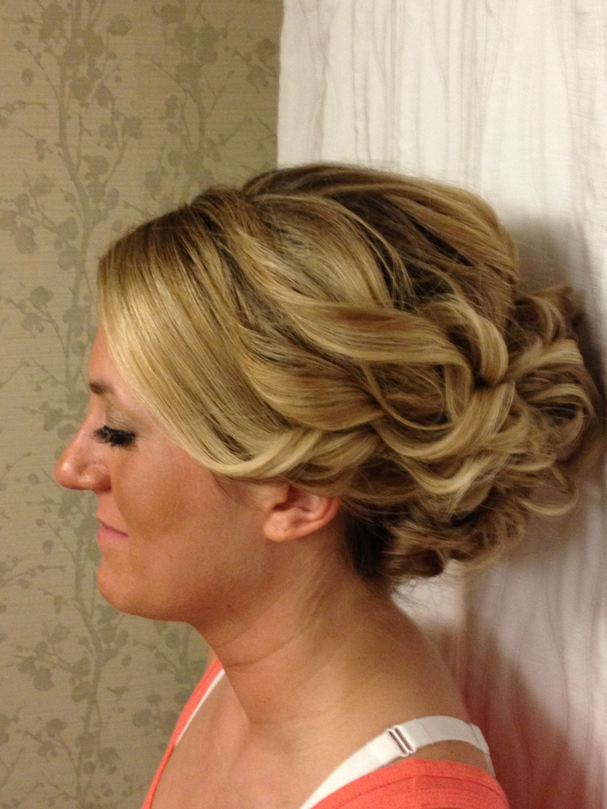 Updo For Long, Thick Hair For Homecoming Or A Wedding | Charisma With Regard To Easy Updo Hairstyles For Thick Hair (View 14 of 15)