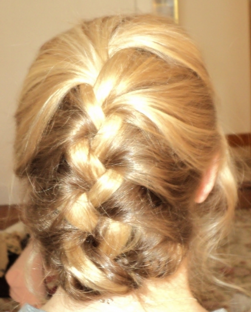 Updo French Braid Hairstyles French Braid Vs Dutch Braid From Cake Within Updo Hairstyles With French Braid (View 12 of 15)