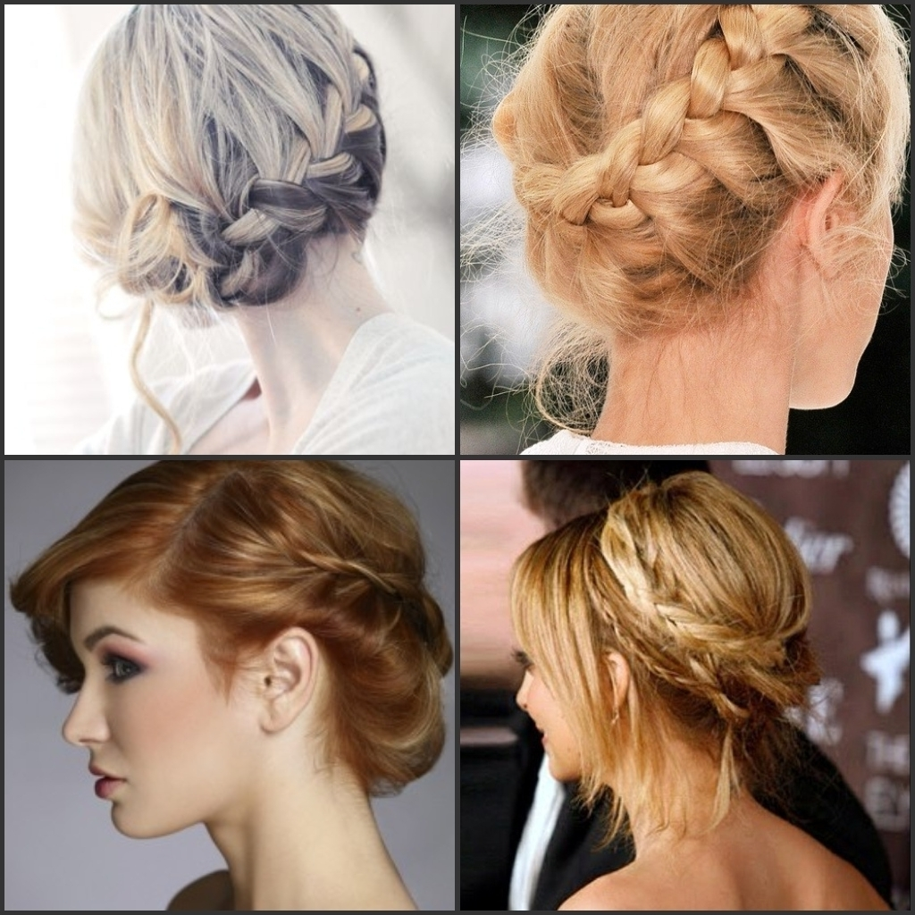 Updo Hairstyle Braids 1000 Images About Earring Hairstyles On With Regard To Braids Updo Hairstyles (View 15 of 15)