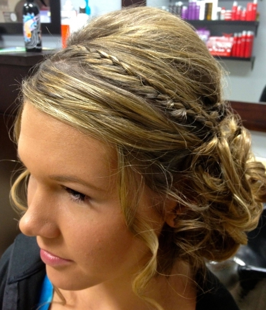 Updo Hairstyle For Homecoming Prom Updos For Medium Hair Tutorial Pertaining To Homecoming Updo Hairstyles For Long Hair (View 15 of 15)