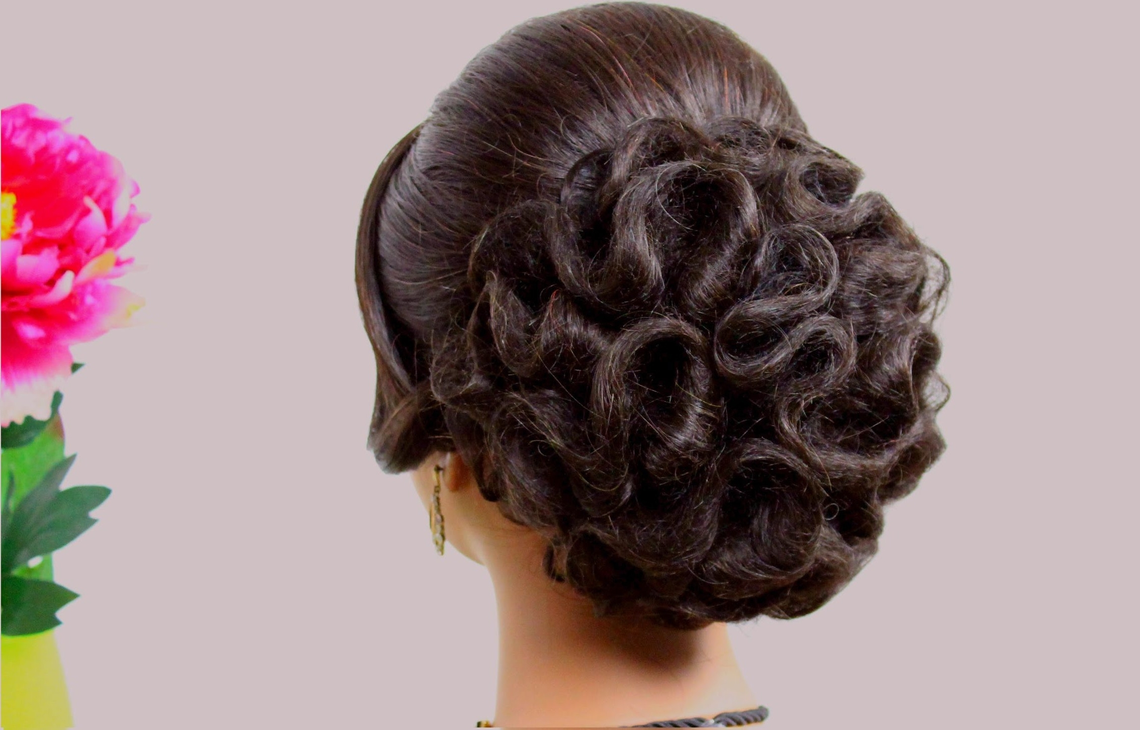 Updo Hairstyles For A Wedding Inspirational Bridal Hairstyle For Intended For Bridesmaid Updo Hairstyles (View 10 of 15)