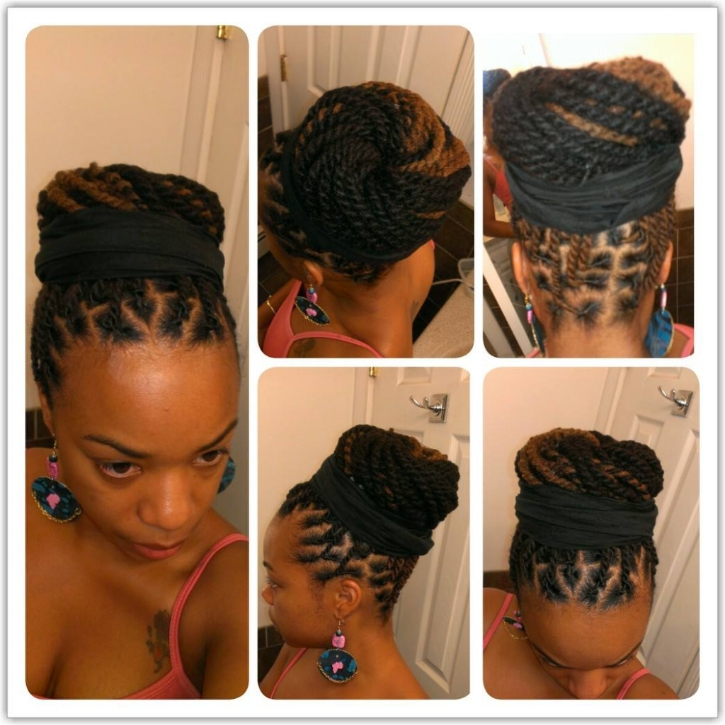 Updo Hairstyles For Dreadlocks Dreadlocks Feature Te'kima's From New With Updo Locs Hairstyles (View 13 of 15)