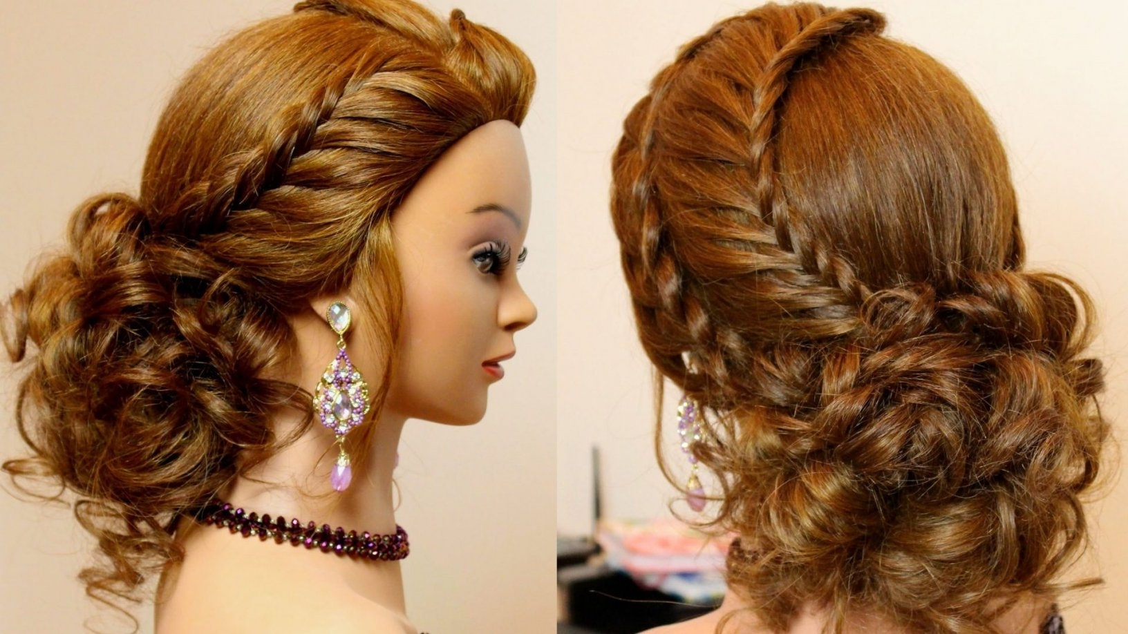 Updo Hairstyles For Long Thick Hair Impressive Updos To The Side Regarding Updo Hairstyles For Long Thick Hair (View 12 of 15)