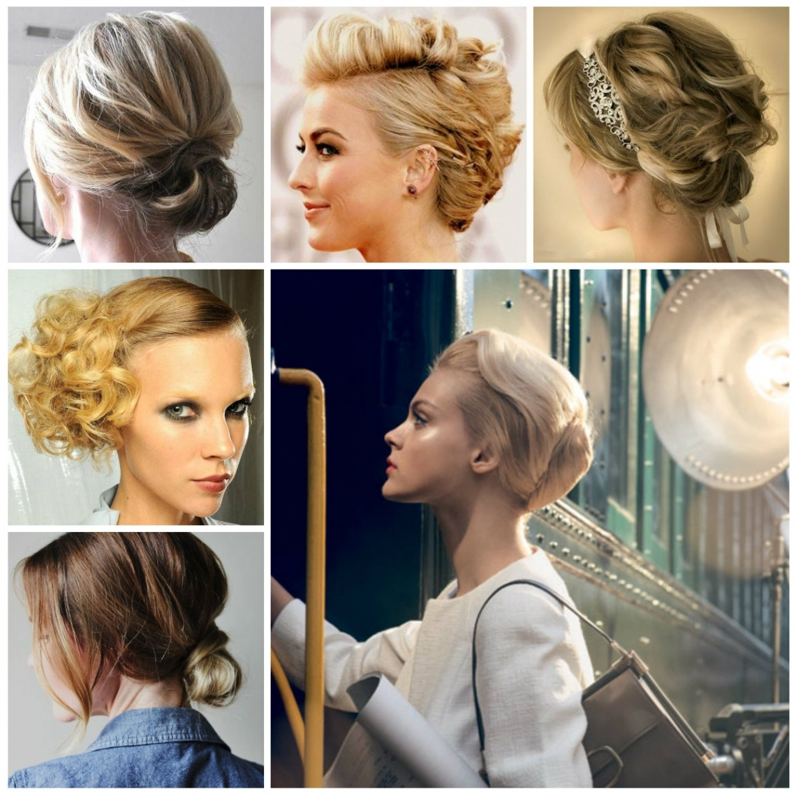 Updo Hairstyles For Short Hair 2017 | New Haircuts To Try For 2018 Throughout New Updo Hairstyles (Gallery 8 of 15)