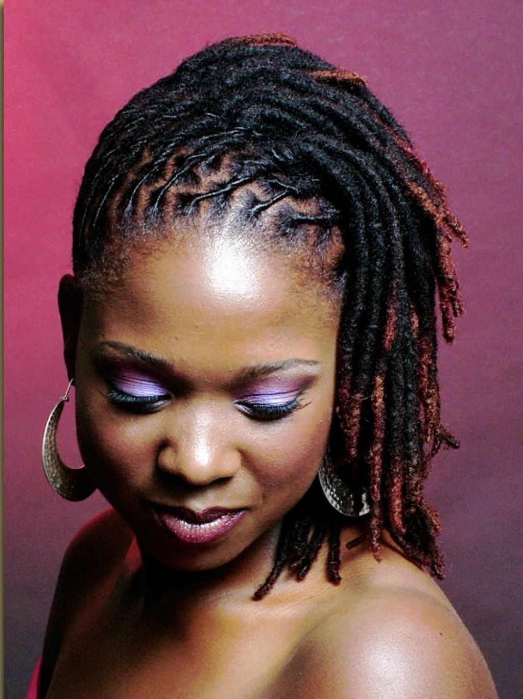 Updo Hairstyles For Short Locs 1000+ Images About Locs Styles On For Updo Locs Hairstyles (View 9 of 15)