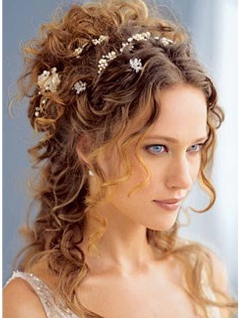 Updo Hairstyles Long Curly Hair Wedding Updos For Long Curly Hair For Updo Hairstyles For Long Curly Hair (Gallery 3 of 15)