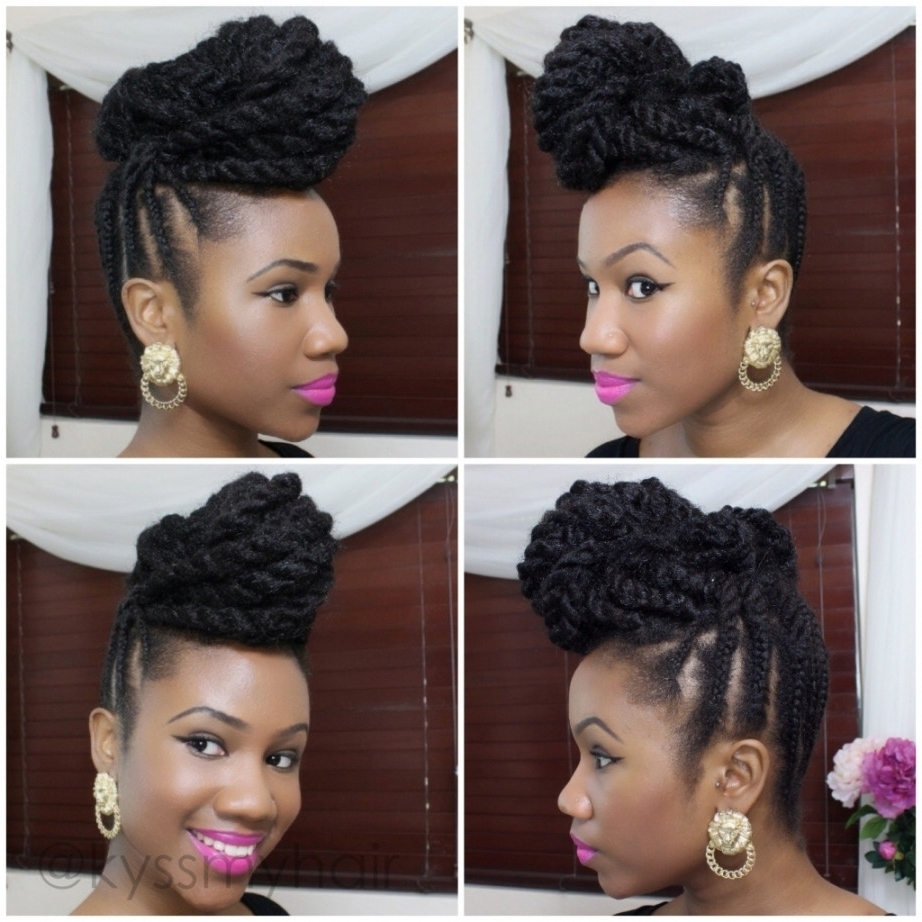 Updo Hairstyles With Braiding Hair Hairstyle With Braiding Hair 3 Within Updo Hairstyles With Braiding Hair (View 13 of 15)