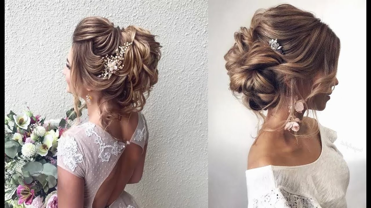Updo Hairstyles With Curls || Easy Prom Hairstyles 2018 || Best Inside Fancy Hairstyles Updo Hairstyles (View 24 of 25)