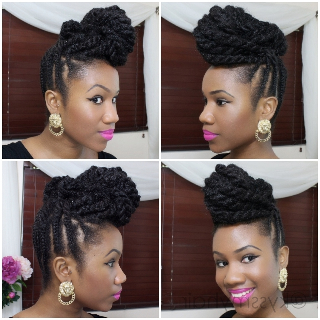 Updo Hairstyles With Kanekalon Hair 1000 Images About Protective Inside Updo Hairstyles Using Kanekalon Hair (Gallery 12 of 15)