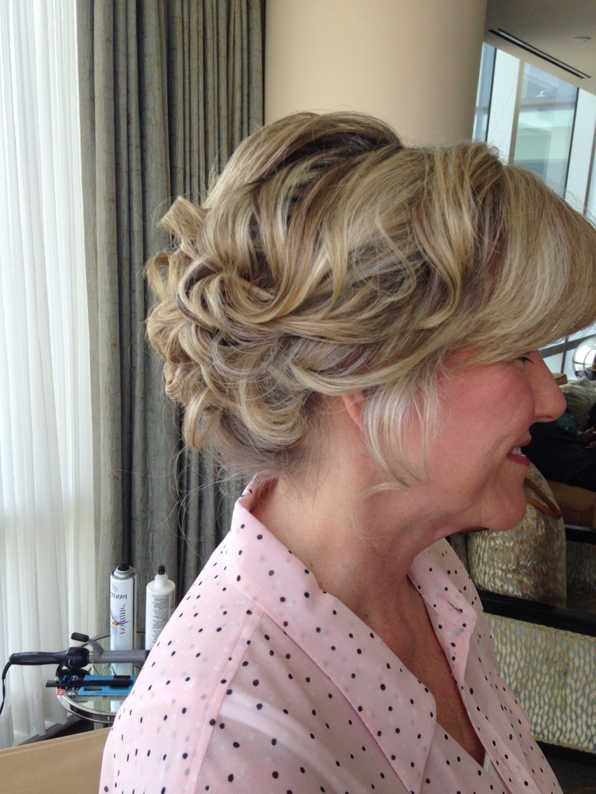 Updo Mother Of The Bride Hairstylesammy Jaeger (Instagram With Regard To Updo Hairstyles For Mother Of The Bride Medium Length Hair (Gallery 2 of 15)