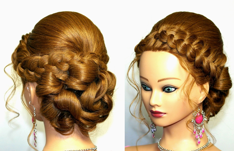 Urban Updo Hairstyles For Weddings – Women Hair Libs Throughout Urban Updo Hairstyles (View 15 of 15)