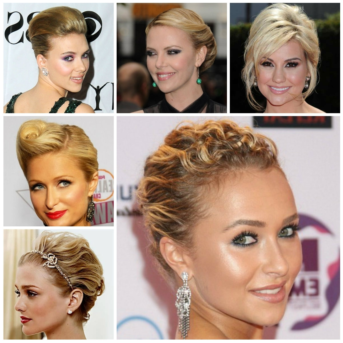 Very Short Hair Updos – 10 Reasons To Try | Hairstyle Ideas In 2018 With Easy Updos For Very Short Hair (Gallery 15 of 15)