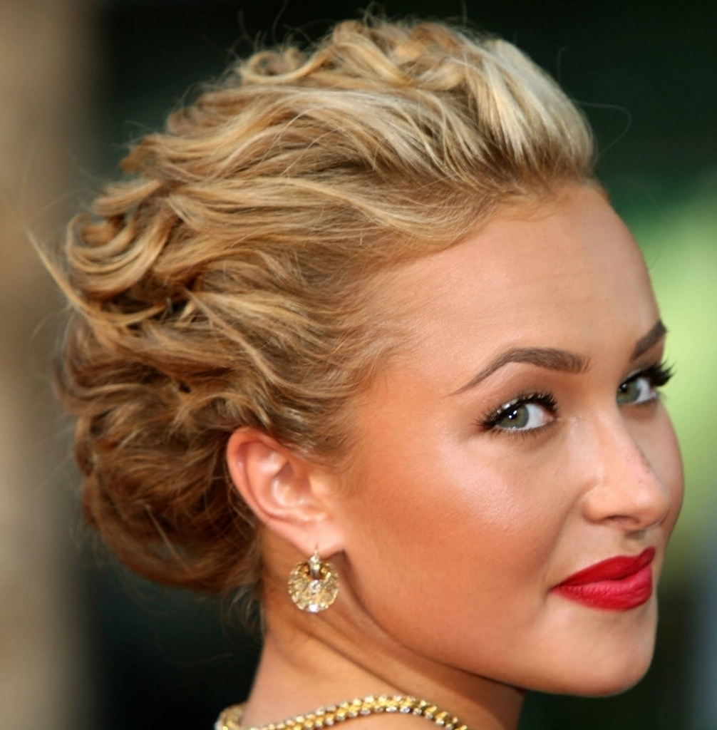 Wavy Updo Hairstyles Loose Updo For Long Hair Tag Loose Wavy Updo Inside Spanish Updo Hairstyles (View 14 of 15)