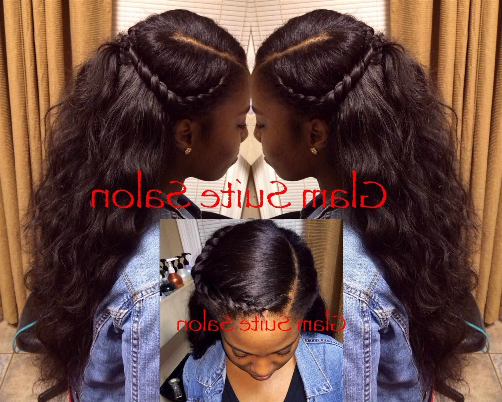 Weave Updo Hairstyles Sew In Hairstyle Women Haircut Ridges Mohawk Inside Sew In Updo Hairstyles (View 2 of 15)